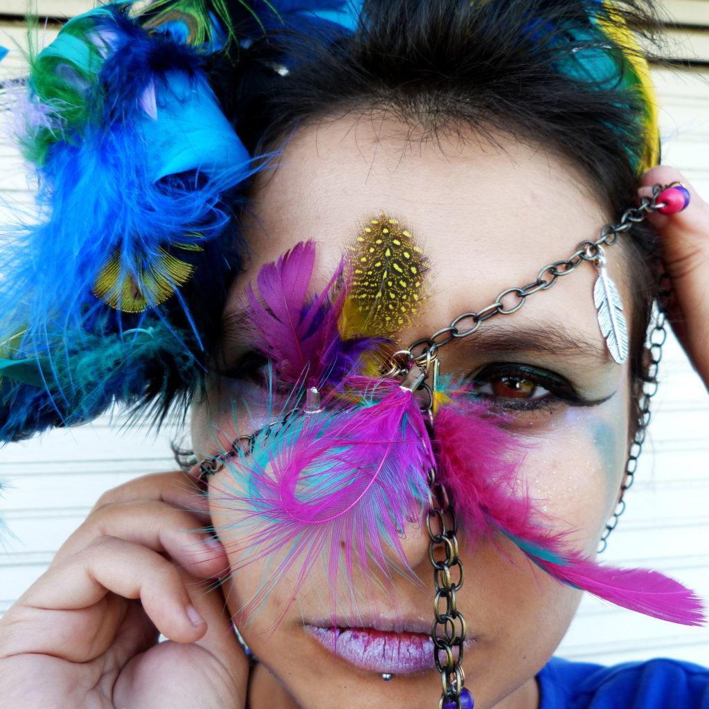 Photo de la créatrice de la marque Orixá